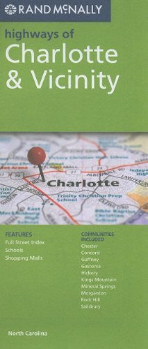 Rand McNally Folded Map: Charlotte Highways (Rand McNally Highways Of...)