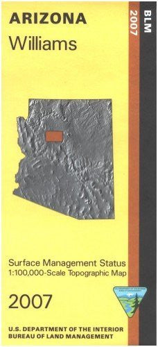 Arizona: Williams - 1:100,000-scale Topographic Map