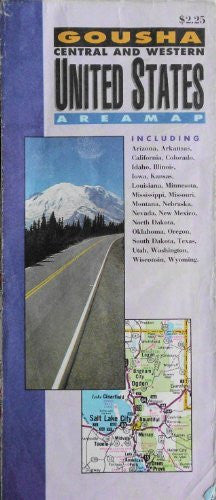 us topo - USA Central & Western Area Map - Wide World Maps & MORE! - Book - Wide World Maps & MORE! - Wide World Maps & MORE!