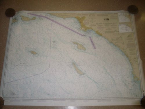 New - NOS Official Navigational Chart of San Diego to Santa Rosa Island