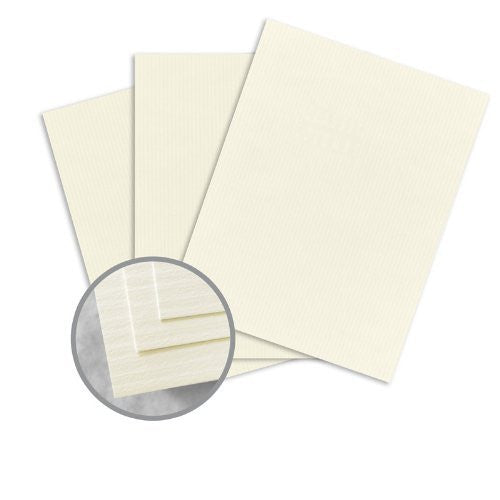 CLASSIC COLUMNS Classic Natural White Paper - 8 1/2 x 11 in 24 lb Writing Embossed Watermarked 500 per Ream