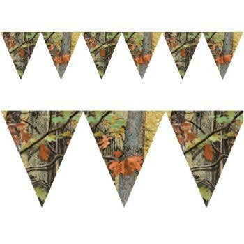 Creative Converting - Hunting Camo Flag Banner