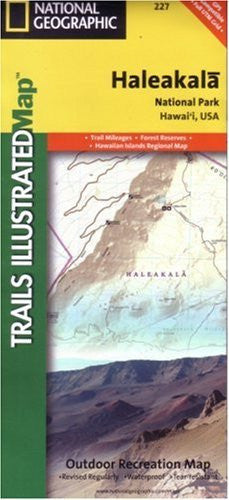 us topo - National Geographic, Trails Illustrated, Haleakala National Park: Hawaii, USA (Trails Illustrated - Topo Maps USA) - Wide World Maps & MORE! - Book - Trails Illustrated - Wide World Maps & MORE!