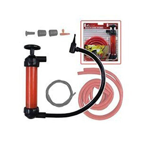 Multi Use Pump Water Oil Gasoline Siphon Inflator Pool And Beach Toy Air Tool