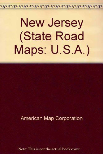 us topo - New Jersey: State Map (Travel Vision) - Wide World Maps & MORE! - Book - Wide World Maps & MORE! - Wide World Maps & MORE!