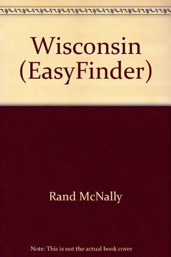 Rand McNally Wisconsin Easyfinder Map