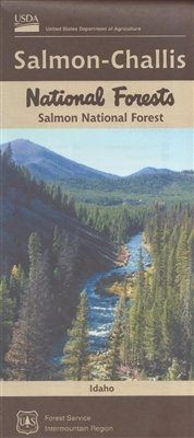 Salmon-Challis National Forest - Salmon National Forest Map