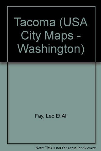 Tacoma (USA City Maps - Washington) - Wide World Maps & MORE! - Book - Wide World Maps & MORE! - Wide World Maps & MORE!