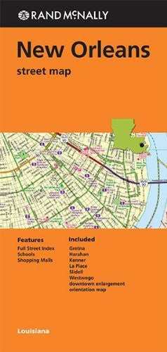 Rand McNally Folded Map: New Orleans Street Map