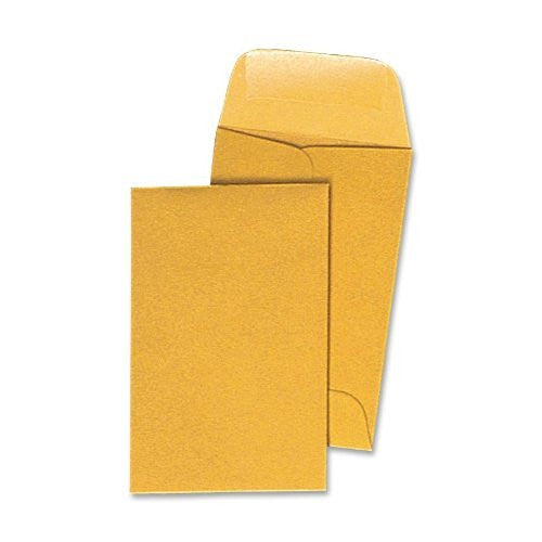 Quality Park Coin/Small Parts Envelopes, #1, 500 Count (50162)