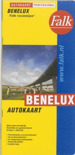 Benelux Countries - Wide World Maps & MORE! - Book - Wide World Maps & MORE! - Wide World Maps & MORE!