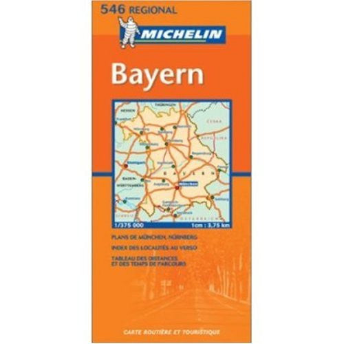 Michelin Map No. 546 Southeast Germany, Scale 1:300,000 (Michelin Guides and Maps) - Wide World Maps & MORE! - Book - Wide World Maps & MORE! - Wide World Maps & MORE!