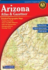 Arizona Atlas & Gazetteer Laminated