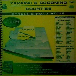 Yavapai County - Coconino County (Arizona) Street & Road Atlas, 1998