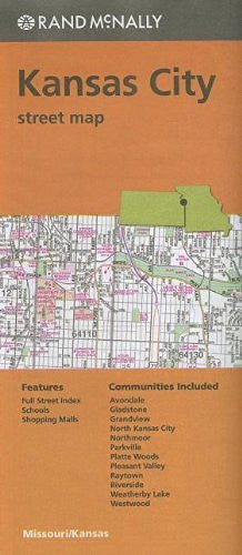 Rand McNally Folded Map: Kansas City Street Map
