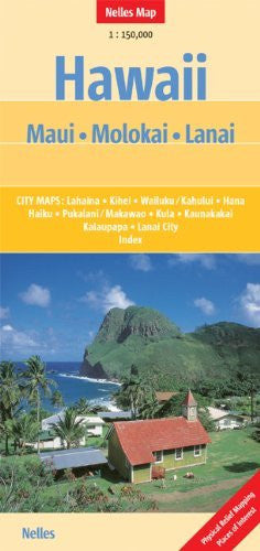Hawaii : Maui, Molokai, Lanai - Wide World Maps & MORE! - Book - Wide World Maps & MORE! - Wide World Maps & MORE!