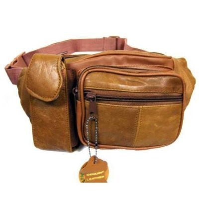 Tan Leather Fanny Pack