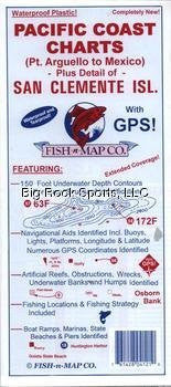 us topo - Fish-N-Maps Pacific Coast Charts - Wide World Maps & MORE! - Sports - Fish-N-Map - Wide World Maps & MORE!