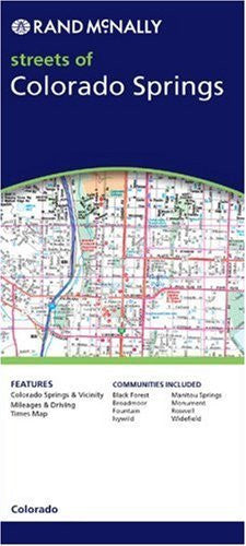us topo - Colorado Springs (Rand McNally Folded Map: Cities) - Wide World Maps & MORE! - Book - Rand McNally - Wide World Maps & MORE!