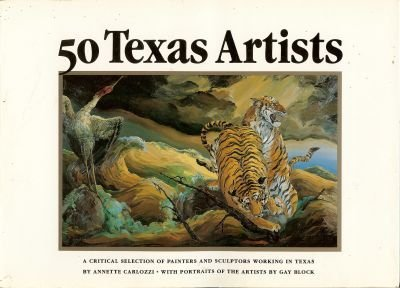 Fifty Texas Artists - Wide World Maps & MORE! - Book - Brand: Chronicle Books - Wide World Maps & MORE!