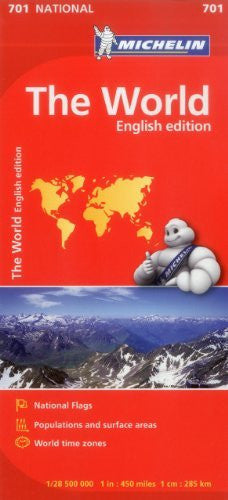 us topo - Michelin World Map 701 (Maps/Country (Michelin)) - Wide World Maps & MORE! - Book - Michelin - Wide World Maps & MORE!