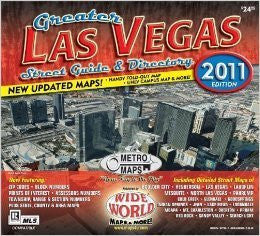 us topo - Greater Las Vegas Street Guide & Directory: 2011 Edition - Wide World Maps & MORE! - Book - Wide World Maps & MORE! - Wide World Maps & MORE!
