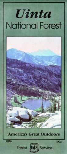 us topo - Travel map, Uinta National Forest : Utah State Wildlife Resources (SuDoc A 13.28:UI 5/8) - Wide World Maps & MORE! - Book - Wide World Maps & MORE! - Wide World Maps & MORE!