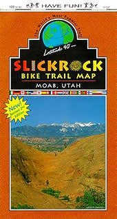 Slickrock Bike Trail map, Moab, Utah: The world's most popular trail