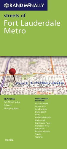 us topo - Rand McNally Streets of Fort Lauderdale Metro: Florida - Wide World Maps & MORE! - Book - Wide World Maps & MORE! - Wide World Maps & MORE!