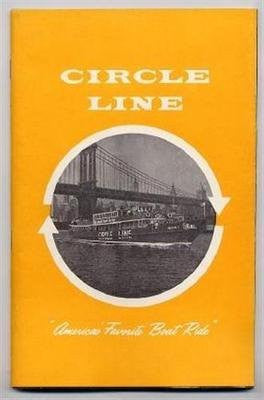 us topo - Circle Line America's Favorite Boat Ride New York City 1966 Mayor John Lindsey - Wide World Maps & MORE! - Single Detail Page Misc - Wide World Maps & MORE! - Wide World Maps & MORE!
