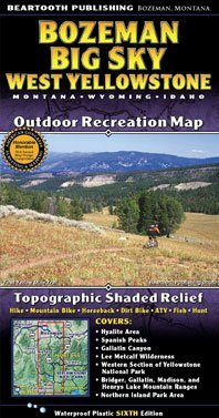Bozeman/Big Sky, MT - Wide World Maps & MORE! - Sports - Beartooth Publishing - Wide World Maps & MORE!