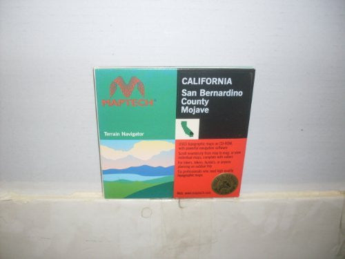 us topo - San Bernardino County Mojave (California) - Wide World Maps & MORE! - Book - Wide World Maps & MORE! - Wide World Maps & MORE!