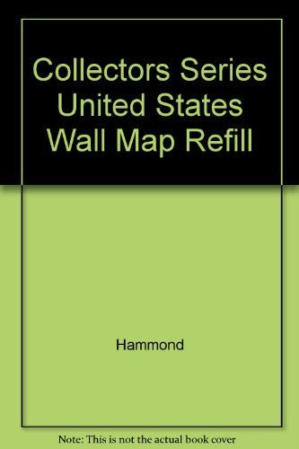 Collectors Series United States Wall Map Refill