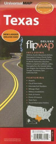 us topo - Texas Deluxe Flip Map - Wide World Maps & MORE! - Book - Wide World Maps & MORE! - Wide World Maps & MORE!