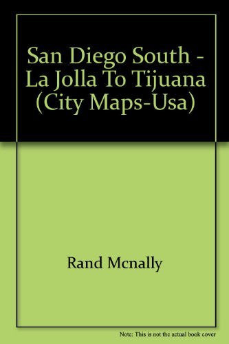 us topo - San Diego South - La Jolla to Tijuana (City Maps-USA) - Wide World Maps & MORE! - Book - Wide World Maps & MORE! - Wide World Maps & MORE!