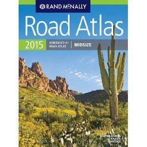Road Atlas 2015 Midsize (United States/Canada/Mexico)