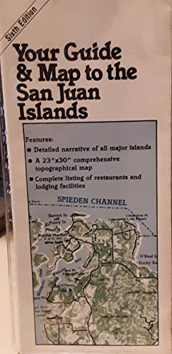 Your Guide and Map to the San Juan Islands - Wide World Maps & MORE! - Book - Wide World Maps & MORE! - Wide World Maps & MORE!