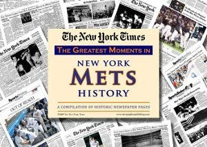 New York Mets unsigned Greatest Moments in History New York Times Historic Newspaper Compilation