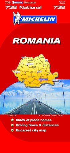 Romania (Michelin National Maps) - Wide World Maps & MORE! - Book - Wide World Maps & MORE! - Wide World Maps & MORE!