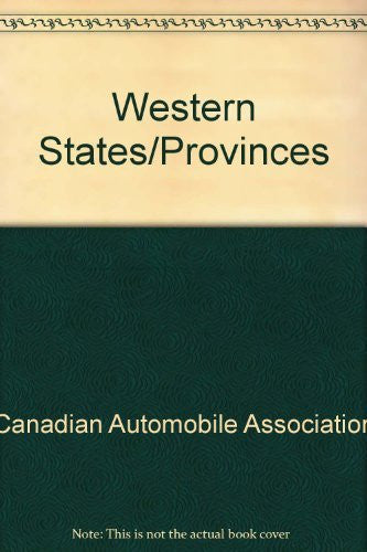 Western States/Provinces Fold-Out Map (AAA Fold-out Maps)