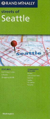 Rand McNally Streets of Seattle: Washington