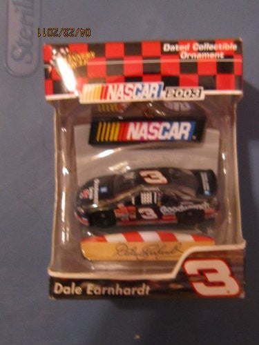 us topo - Nascar 2003 Dale Earnhardt #3 Collectible Ornament - Wide World Maps & MORE! - Toy - Trevco - Wide World Maps & MORE!