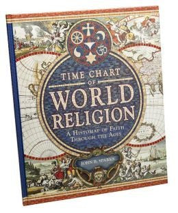 us topo - Time Chart of World Religion: A Histomap of Faith Through the Ages - Wide World Maps & MORE! - Book - Wide World Maps & MORE! - Wide World Maps & MORE!