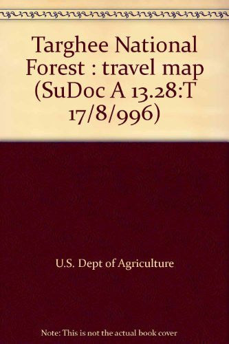 us topo - Targhee National Forest : travel map (SuDoc A 13.28:T 17/8/996) - Wide World Maps & MORE! - Book - Wide World Maps & MORE! - Wide World Maps & MORE!