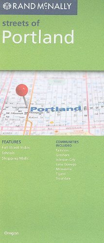 us topo - Rand McNally Streets of Portland: Communities Included: Fairview, Gresham, Johnson City, Lake Oswego, Milwaukie, Tigard, Troutdale - Wide World Maps & MORE! - Book - Wide World Maps & MORE! - Wide World Maps & MORE!