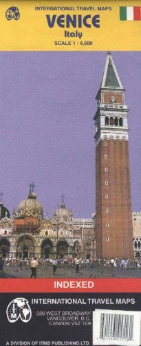 Venice (Italy) 1:4,500 Street Map (International Travel Maps / Carte Stradali Estere)
