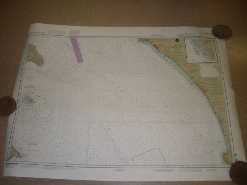 NOS Official Navigational Chart of Gulf of Santa Catalina - Wide World Maps & MORE! - Book - Wide World Maps & MORE! - Wide World Maps & MORE!