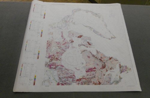 Preliminary Metallogenic Map of North America (Northeast Quadrant) (GIA0014-1T)
