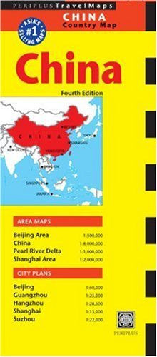 Periplus Travel Maps China: Country Map (Periplus Maps) - Wide World Maps & MORE! - Book - Brand: Periplus Editions - Wide World Maps & MORE!