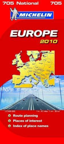 Europe 2010 2010 (Michelin National Maps)